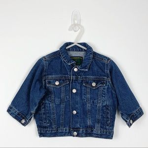 Vintage Baby Gap Denim Jean Jacket 12-18 Mo